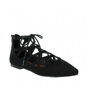 Mia Anamaria Lace up Ballet Flats